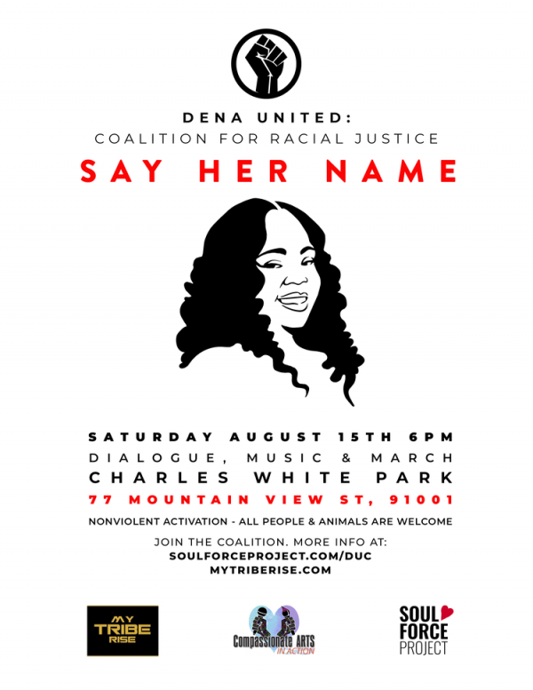 Dena United Racial Justice Coalition: Say Her Name Event